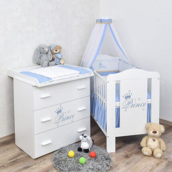 Babyzimmer Prince 60x120
