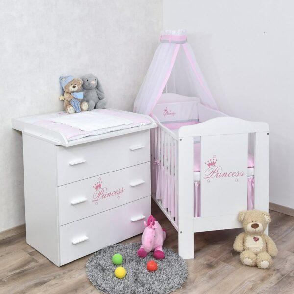 Babyzimmer Princess 60x120