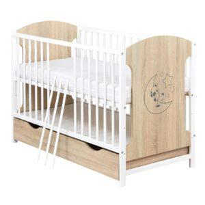 Babybett Juna Sonoma Weiss 120x60