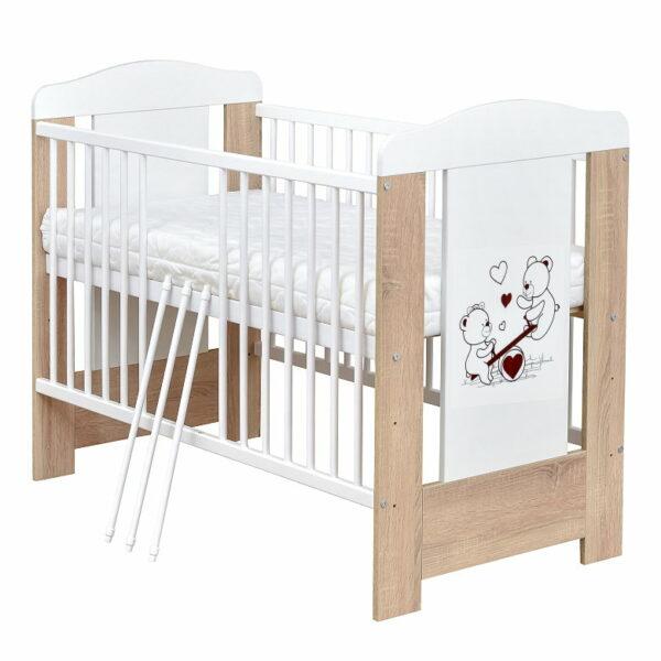 Babybett Anna Sonoma Weiss 60x120