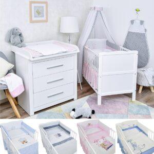 Babyzimmer Emmi Komplettset Premium