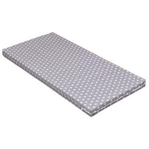 Matratze Schaumstoff 140x70 cm Grey Stars
