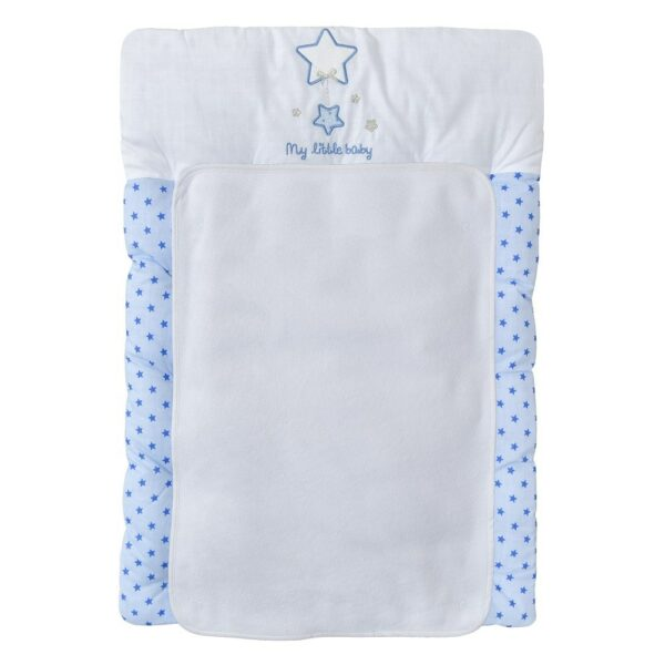 Wickelauflage Magic Stars Blau 50x75 cm