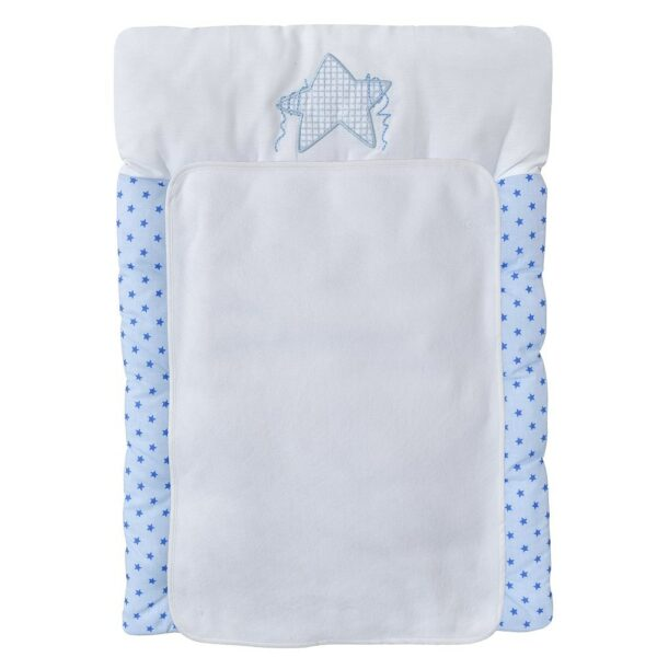 Wickelauflage Twinkle Star Blau 50x75 cm